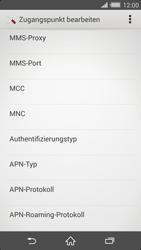 Sony Xperia Z2 - Internet - Manuelle Konfiguration - Schritt 11