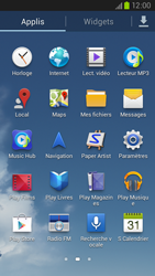 Samsung Galaxy S III LTE - Applications - Comment désinstaller une application - Étape 3