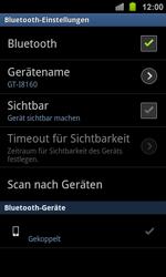 Samsung I8160 Galaxy Ace 2 - Bluetooth - Geräte koppeln - Schritt 11