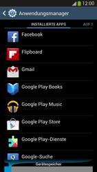 Samsung Galaxy S 4 Active - Apps - Eine App deinstallieren - Schritt 6