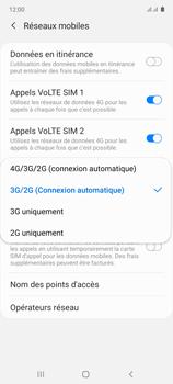 Samsung Galaxy Note 10 Lite - Internet et connexion - Activer la 4G - Étape 7