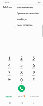 Samsung Galaxy Z Flip Single-SIM + eSIM (SM-F700F) - Beveiliging en ouderlijk toezicht - Nummer blokkeren - Stap 5