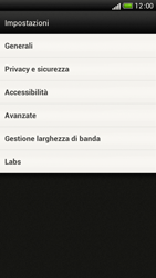 HTC One S - Internet e roaming dati - Configurazione manuale - Fase 20