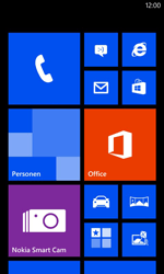 Nokia Lumia 625 - Applicaties - Account aanmaken - Stap 1