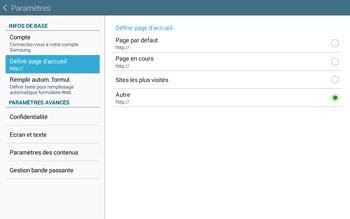 Samsung T535 Galaxy Tab 4 10.1 - Internet et roaming de données - Configuration manuelle - Étape 24