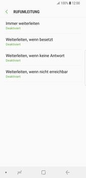 Samsung Galaxy S9 - Anrufe - Rufumleitungen setzen und löschen - Schritt 9