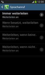 Samsung Galaxy Trend Plus - Anrufe - Rufumleitungen setzen und löschen - 11 / 12