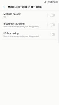 Samsung Galaxy S6 edge+ - Android Nougat - WiFi - Mobiele hotspot instellen - Stap 6