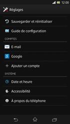 Sony Xperia Z - Logiciels - Installation de mises à jour - Étape 5