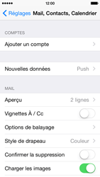 Apple iPhone 5c iOS 8 - E-mail - configuration manuelle - Étape 8