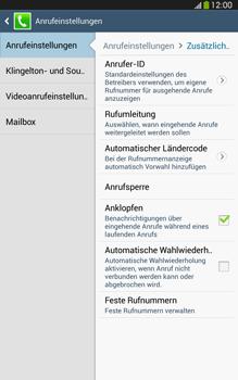 Samsung T315 Galaxy Tab 3 8-0 LTE - Anrufe - Rufumleitungen setzen und löschen - Schritt 7