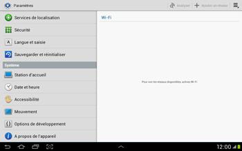 Samsung Galaxy Tab 2 10.1 - Téléphone mobile - Réinitialisation de la configuration d