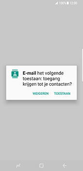 Samsung Galaxy S8 (G950) - E-mail - Handmatig instellen - Stap 6