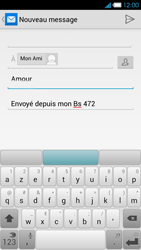 Bouygues Telecom Ultym 4 - E-mails - Envoyer un e-mail - Étape 9