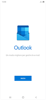 Samsung Galaxy Note 20 Ultra 5G - E-mail - 032c. Email wizard - Outlook - Fase 5