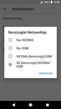 Sony Xperia XA2 Ultra - Netzwerk - Netzwerkeinstellungen ändern - Schritt 7