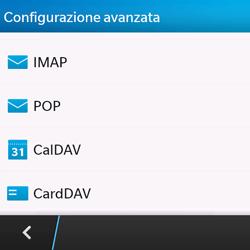 BlackBerry Q10 - E-mail - Configurazione manuale - Fase 7