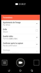 HTC Desire 816 - Photos, vidéos, musique - Créer une vidéo - Étape 9