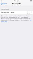 Apple iPhone 7 - iOS 12 - Données - Créer une sauvegarde avec votre compte - Étape 10