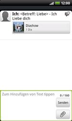 HTC Desire Z - MMS - Erstellen und senden - 15 / 16