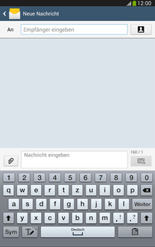 Samsung Galaxy Tab 3 8-0 LTE - MMS - Erstellen und senden - 0 / 0