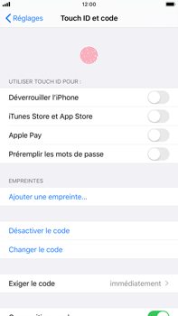 Apple iPhone 6s Plus - iOS 13 - Sécurité - activéz le code PIN de l'appareil - Étape 8
