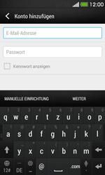 HTC Desire 500 - E-Mail - Konto einrichten - Schritt 6