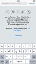 Apple iPhone 6s iOS 10 - Internet et roaming de données - Navigation sur Internet - Étape 5