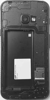 Samsung Galaxy Xcover 4 - SIM-Karte - Einlegen - 3 / 8