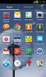 Samsung S7560 Galaxy Trend - E-mail - Handmatig instellen - Stap 3