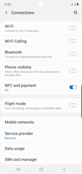 Samsung Galaxy Note 10 - Network - Manual network selection - Step 5