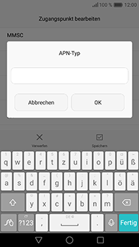 Huawei P9 Plus - Internet - Apn-Einstellungen - 2 / 2