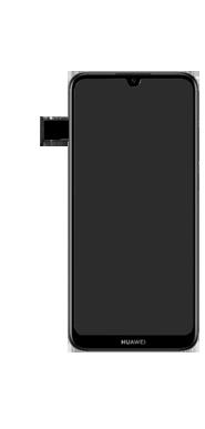 Huawei Y6 (2019) - Appareil - comment insérer une carte SIM - Étape 7