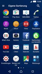 Sony E2303 Xperia M4 Aqua - Netzwerk - Netzwerkeinstellungen ändern - Schritt 3
