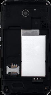 Sony Xperia E1 - SIM-Karte - Einlegen - 5 / 12