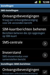 Samsung S7500 Galaxy Ace Plus - SMS - handmatig instellen - Stap 4