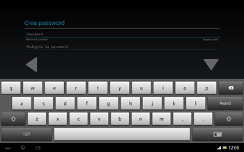 Sony Xperia Tablet Z LTE - Applicazioni - Configurazione del negozio applicazioni - Fase 11