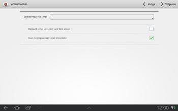 Samsung P7500 Galaxy Tab 10-1 - E-mail - e-mail instellen: POP3 - Stap 13