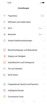 Oppo Find X2 - Internet und Datenroaming - Deaktivieren von Datenroaming - Schritt 4