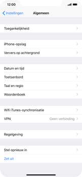 Apple iPhone XS Max - Resetten - Fabrieksinstellingen terugzetten - Stap 4