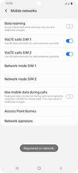 Samsung Galaxy S20 Ultra 5G - Network - Manual network selection - Step 14