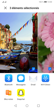 Huawei Y5P - Photos, vidéos, musique - Envoyer une photo via Bluetooth - Étape 9