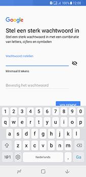 Samsung Galaxy A8 (2018) - apps - account instellen - stap 13