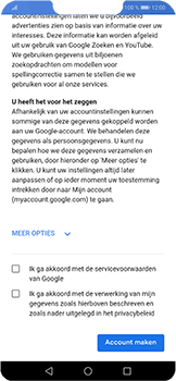 Huawei P Smart Plus - apps - account instellen - stap 13