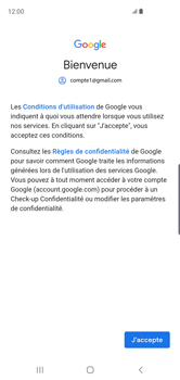 Samsung Galaxy S10 - E-mail - 032a. Email wizard - Gmail - Étape 11