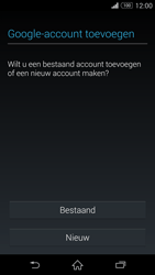 Sony Xperia Z3 Compact 4G (D5803) - Applicaties - Account aanmaken - Stap 4