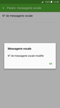 Samsung G928F Galaxy S6 Edge + - Messagerie vocale - Configuration manuelle - Étape 10