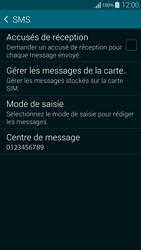Samsung G850F Galaxy Alpha - SMS - configuration manuelle - Étape 9