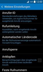 Samsung Galaxy Trend 2 Lite - Anrufe - Rufumleitungen setzen und löschen - 6 / 11