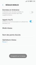 Samsung Galaxy S6 - Android Nougat - Réseau - Sélection manuelle du réseau - Étape 11